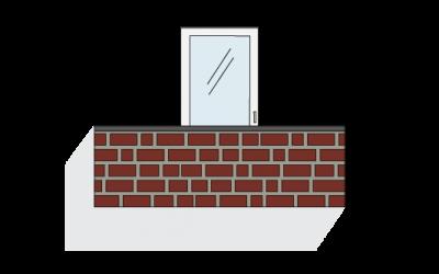 Poggiolo in muratura
